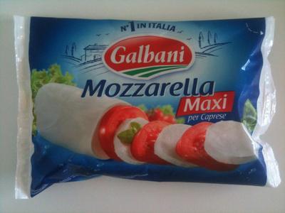 Mozzarella Maxi per Caprese (19% MG) - Prodotto - fr