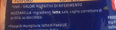Santa Lucia - Ingrediënten - fr