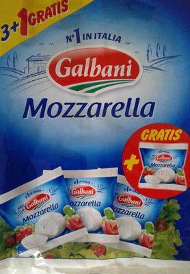 Galbani mozzarella x3 - Product