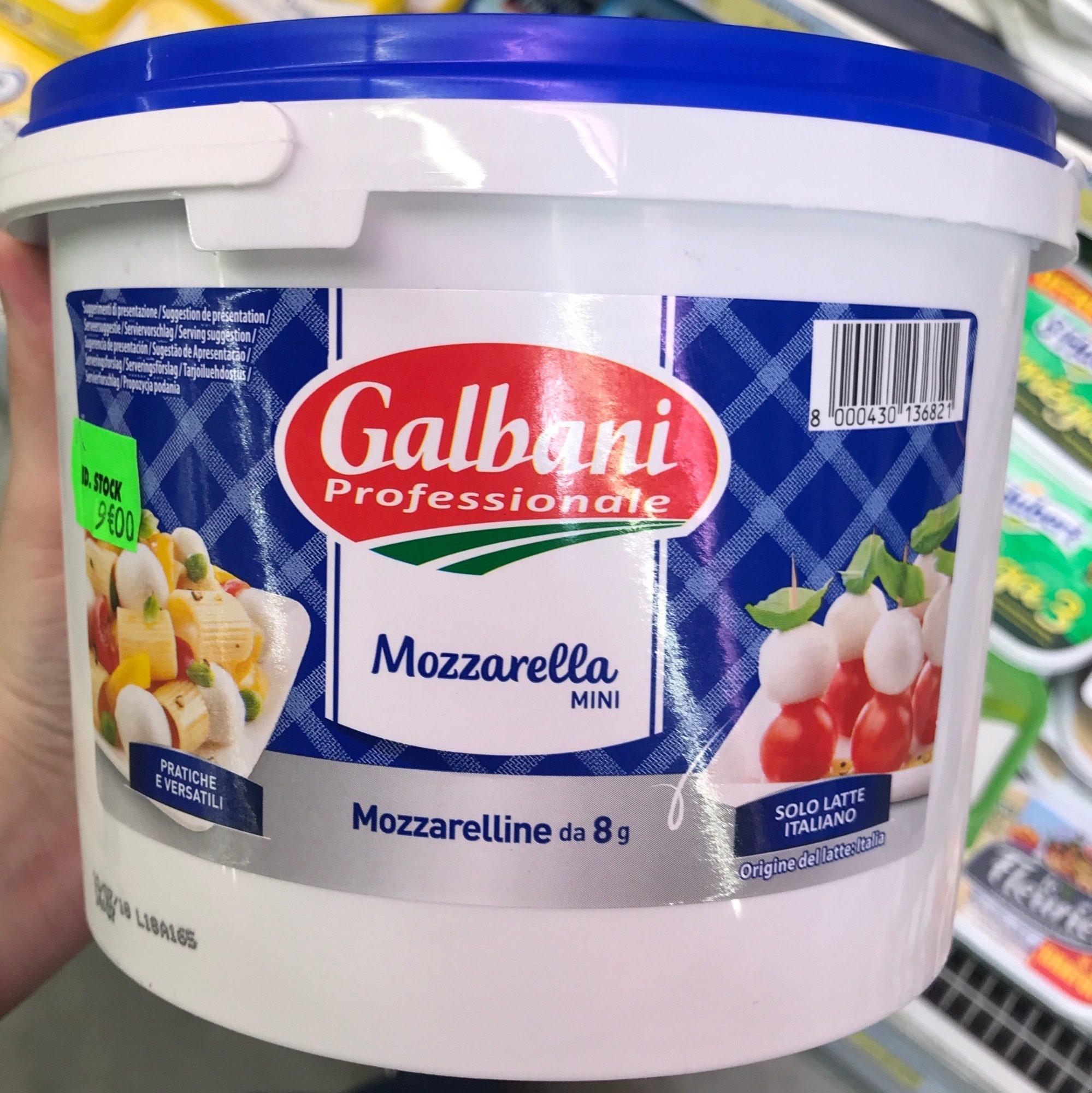 Mozzarella Billes 8 g 19 % - Product