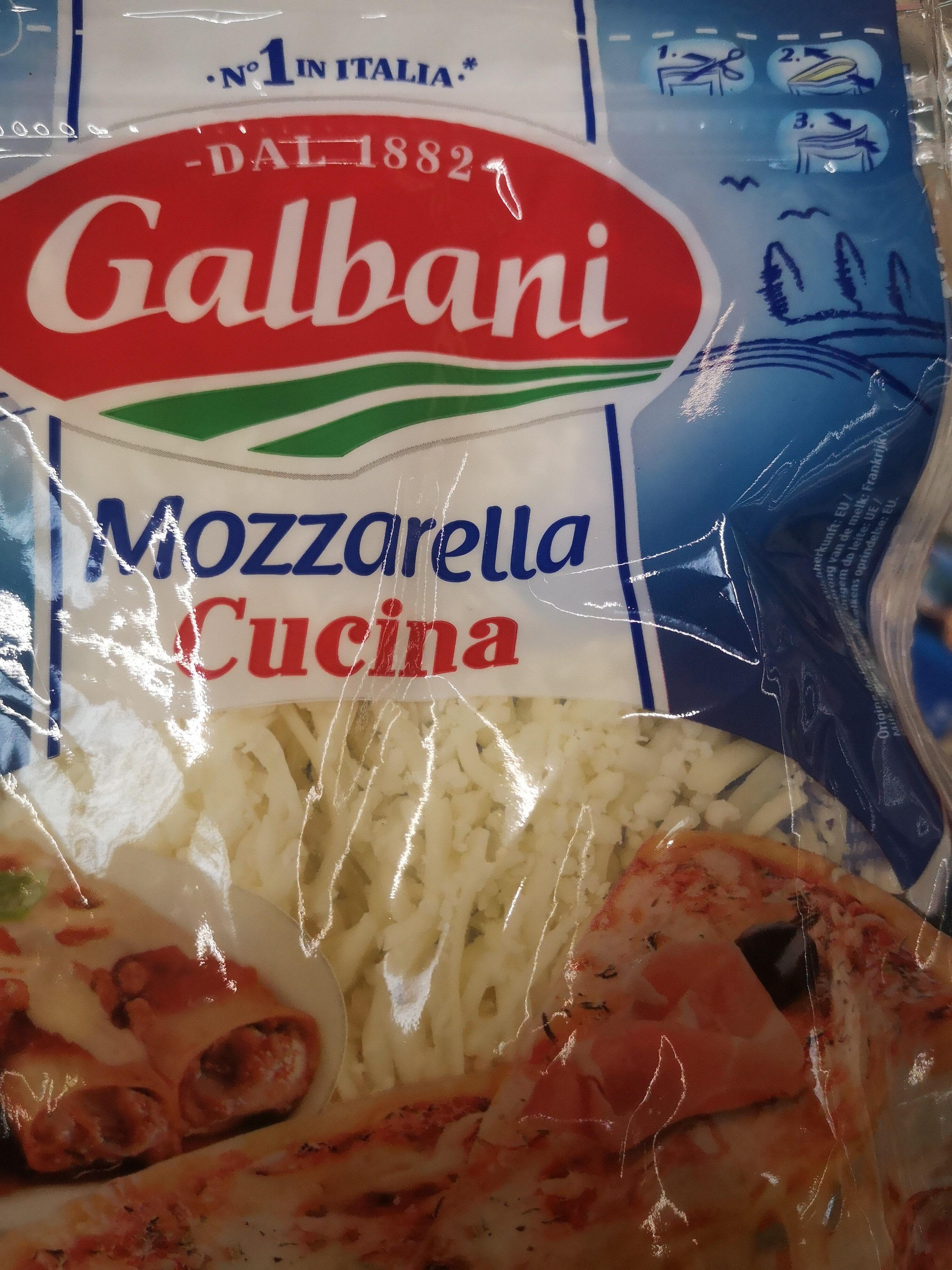 Mozzarella Cucina - Produit - fr