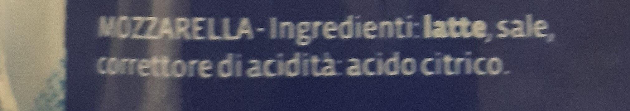 Mozarella Santa Lucia - Ingredients - it