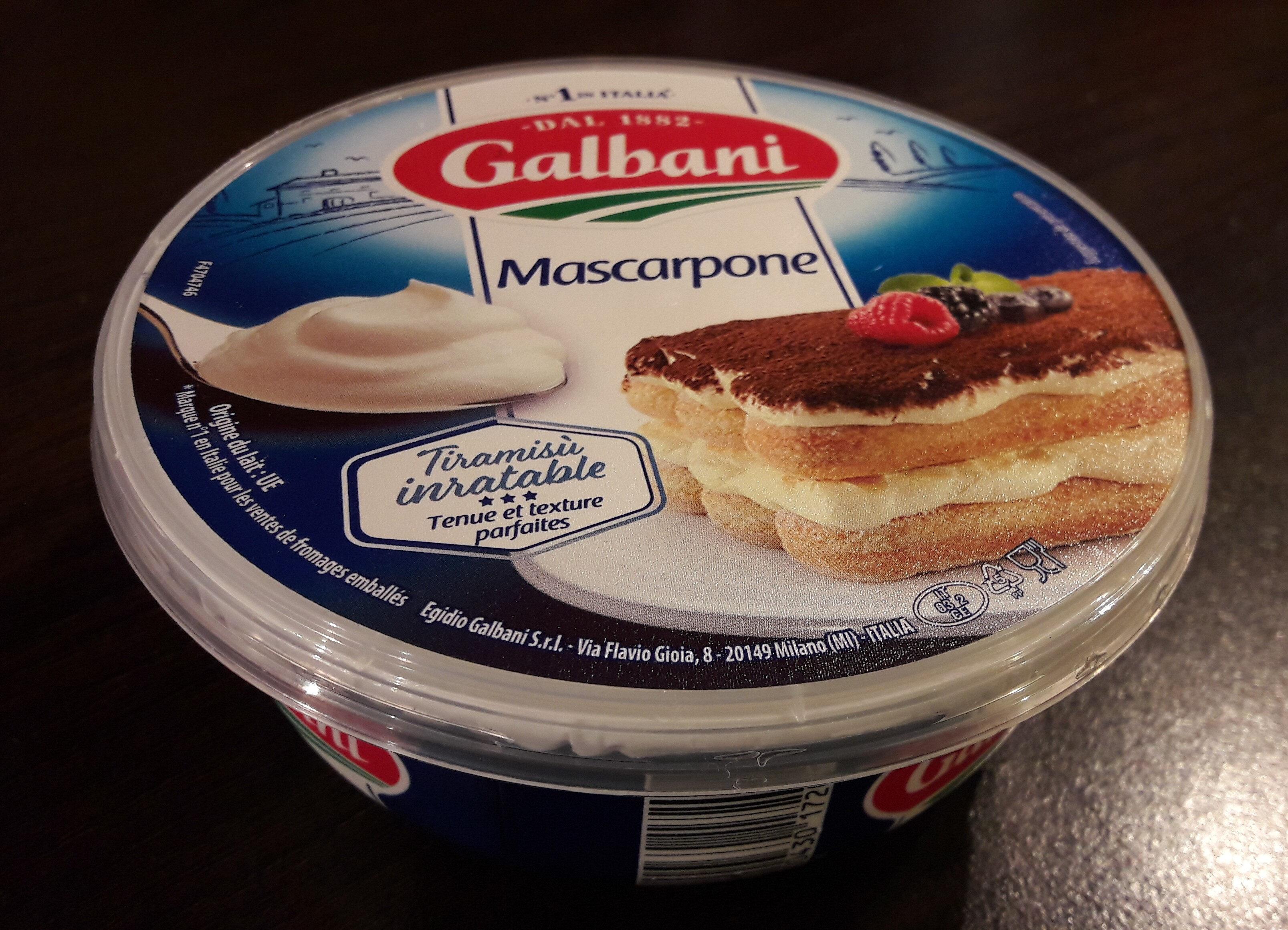 Mascarpone - Producte - fr