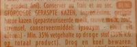 Galbani Paesano - Ingrediënten