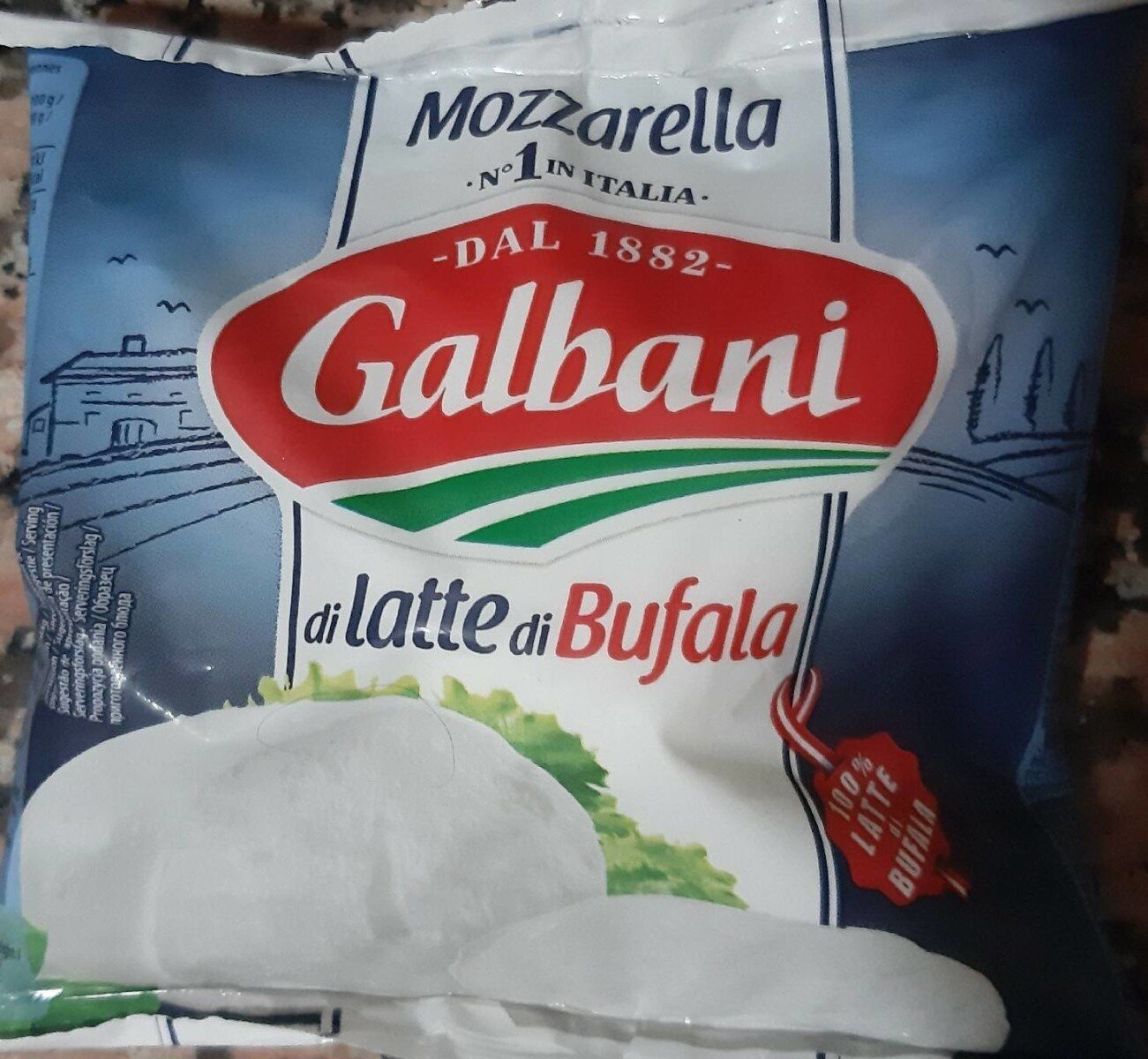 Mozzarella di Latte di Bufala - Produkt - en