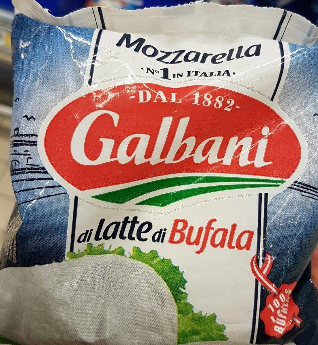 Mozzarella di latte di bufala - Продукт