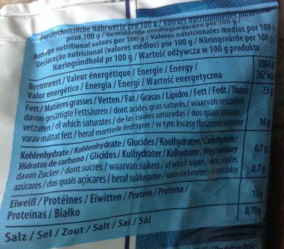 Mozzarella Galbani di latte di Bufala - Nutrition facts
