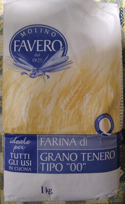 farina do grano tenero tipo 00 - Produit - it