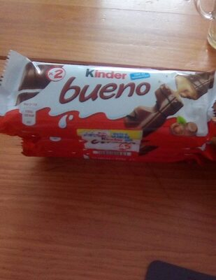 Kinder bueno gaufrettes enrobees de chocolat 5 x 2 barres - Produit - fr