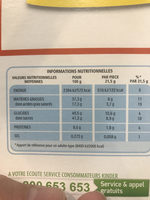 Bueno - Informations nutritionnelles - fr