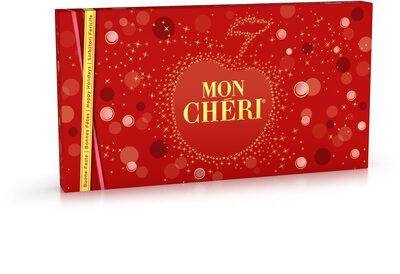 Mon cheri cerise bonbons de chocolat noir fourres cerise et liqueur boite de 35 bouchees - Prodotto - fr