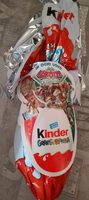 Pâques Maxi Kinder Surprise garçon œuf chocolat - Prodotto - it