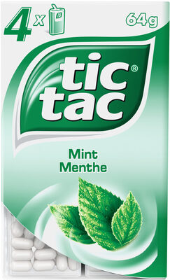 Tic tac menthe t4 t(33x4) pack de 4 etuis - Produit - fr