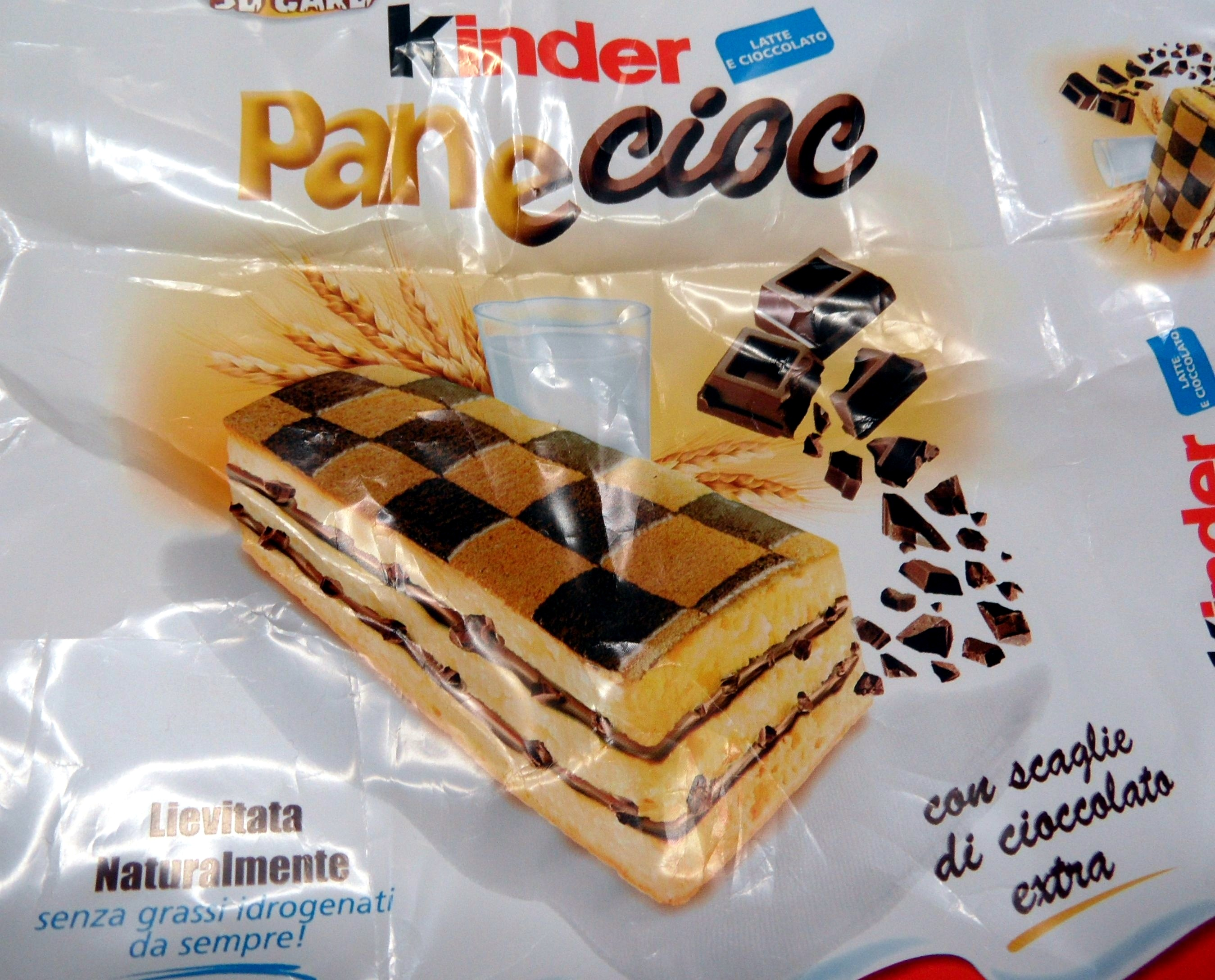 Pan e cioc Kinder FERRERO con scaglie di cioccolata extra - Product