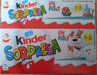 Kinder Surprise 3 pack - Prodotto - it