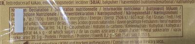 Ferrero Rocher - Fines gaufrettes enrobées de chocolat - Informazioni nutrizionali - fr