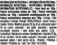 Mon cheri cerise bonbons de chocolat noir fourres cerise et liqueur etui de 16 bouchees - Informations nutritionnelles