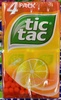 Tic Tac goût Orange - Product