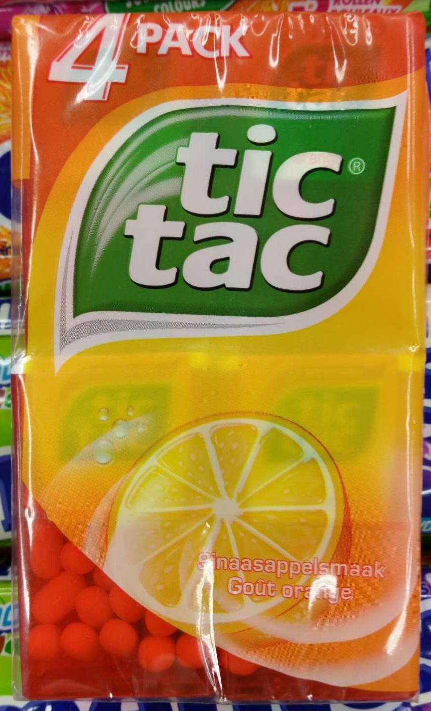 Tic Tac goût Orange - Product - fr