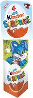 Kinder surprise t4 etui boite de 4 œufs - Prodotto - fr