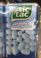 Tic Tac Menthe Extra Fraîche X 24 - Product - fr