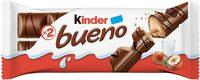 Kinder bueno gaufrettes enrobees de chocolat 2 barres - Prodotto - fr