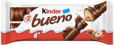 Kinder bueno gaufrettes enrobees de chocolat 2 barres - Product - fr
