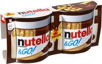 NUTELLA & GO biscuits 2 paquets à - Produit - fr