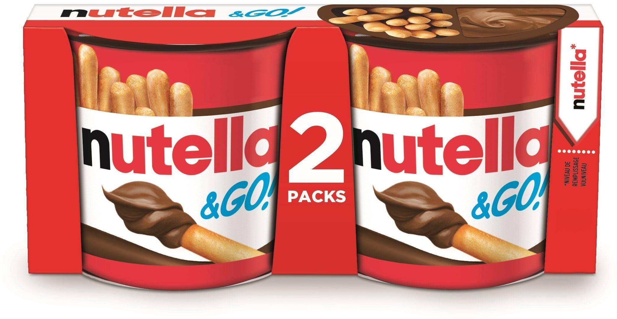 NUTELLA & GO biscuits 2 paquets à 52g - Prodotto - fr