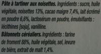 NUTELLA & GO biscuits 2 paquets à 52g - Ingredienti - fr