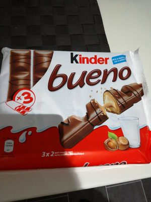 Bueno Mælkechokolade m / Hasselnødder - Produit - fr