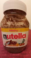 Nutella - Pâtes à tartiner aux noisettes et au cacao - Prodotto - it
