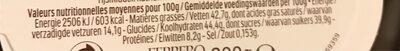 Pâques ferrero rocher fines gaufrettes enrobees de chocolat au lait et noisettes avec noisette entiere oeuf 16 pieces - Informations nutritionnelles - fr