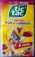 Tic tac goûts cerise & fruit de la passion - Produit