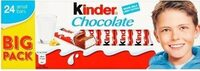 Kinder Schokolade - Produit - fr