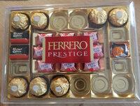 Ferrero prestige assortiment de chocolats boite de 28 pieces - Informazioni nutrizionali - fr