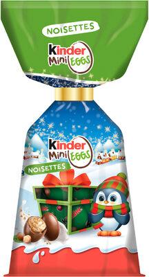 Kinder mini eggs petits œufs de chocolat superieur au lait fourres noisettes sachet de - Prodotto - fr
