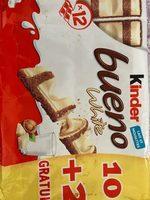 Kinder bueno white - Prodotto - fr