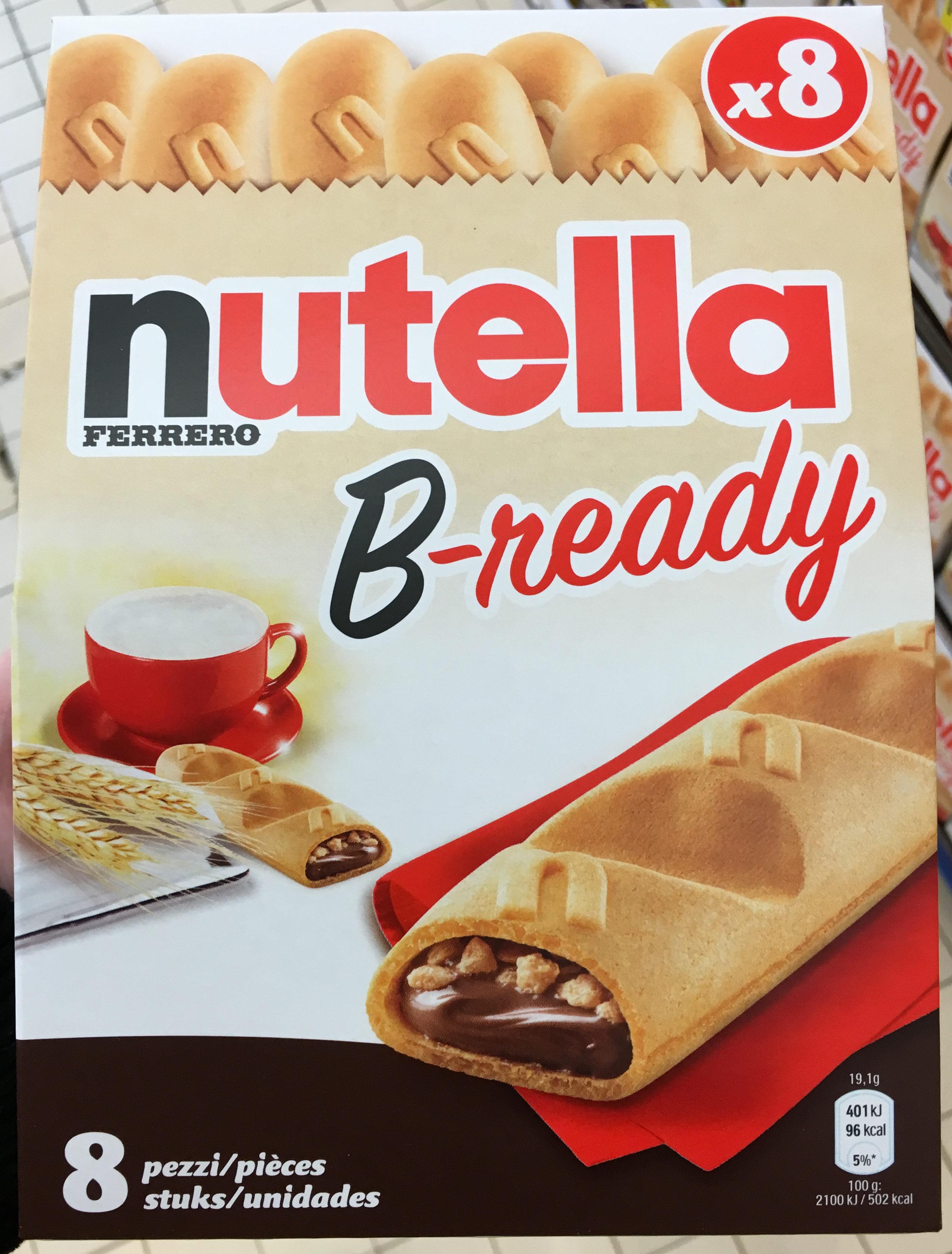 Nutella B-ready - Product - en