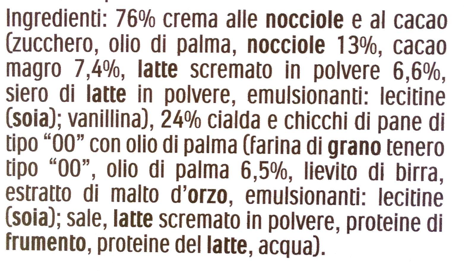 Nutella B-ready - Ingredienti - it