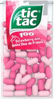 Tic Tac 100 goûts duo de fraises - Product