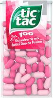 Bonbons tic tac goûts duo de fraises - Product - fr