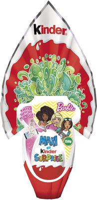 Pâques Maxi Kinder Surprise fille œuf chocolat - Product