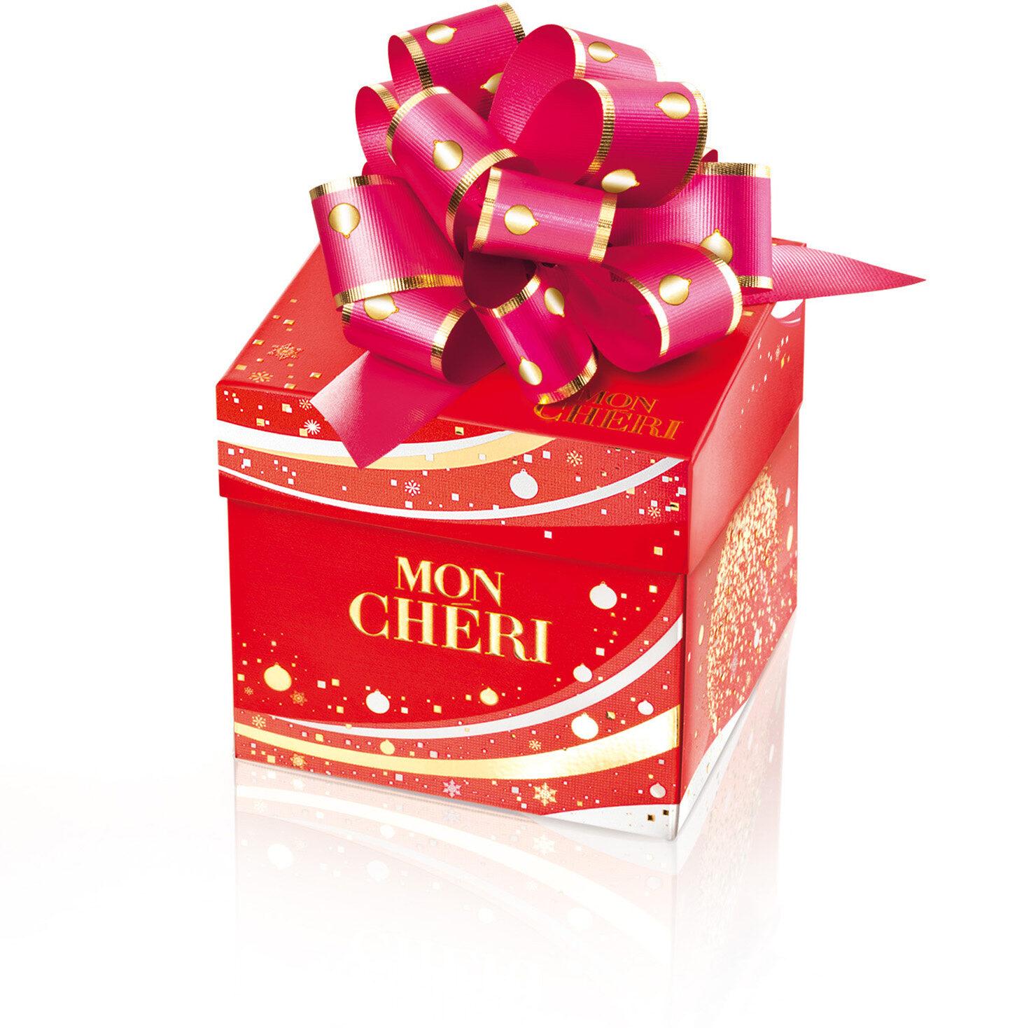 Mon cheri cerise cube t8 cube de 8 bouchees - Produit - fr