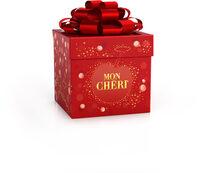 Mon cheri cerise bonbons de chocolat noir fourres cerise et liqueur cube de 8 bouchees - Produit - fr