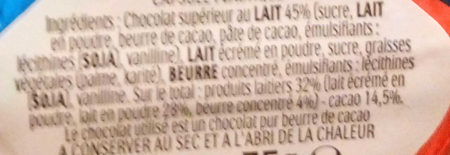 Moulage lapin kinder surprise - Ingredienti - fr