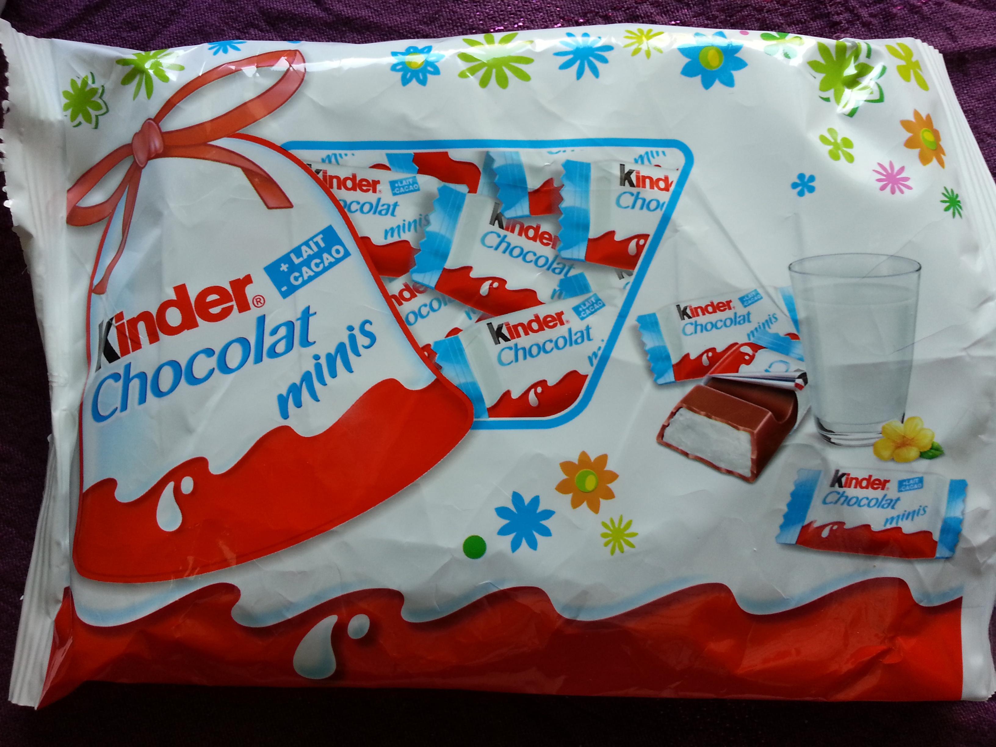 Kinder chocolat mini - Product - fr