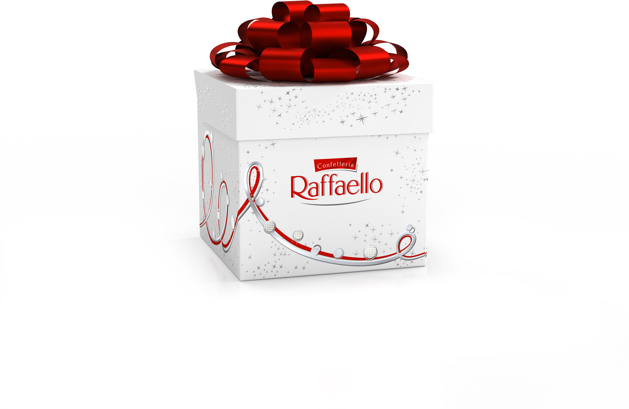 Raffaello fines gaufrettes enrobees de noix de coco fourrees noix de coco avec amande entiere cube de 7 pieces - Prodotto - fr