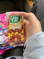 Bonbons tic tac goûts cerise-passion - Informations nutritionnelles - fr