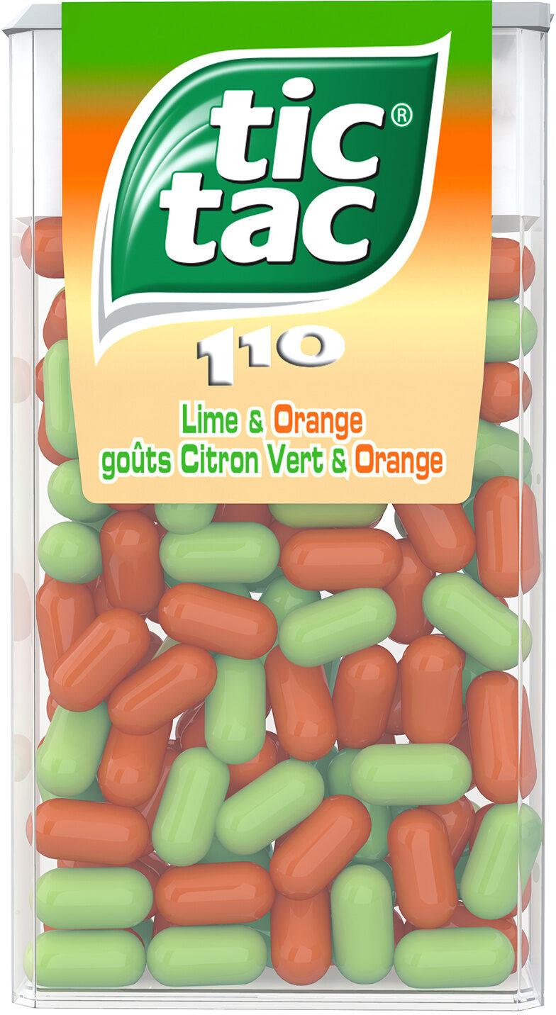Bonbons tic tac goûts orange-citron vert - Prodotto - fr